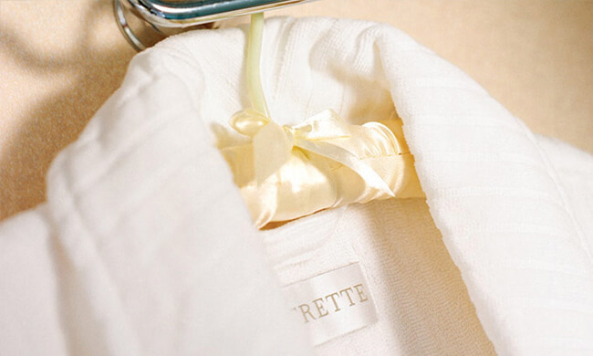 ETRO robes and slippers - crystal cruises